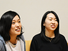 永澤佳子さん、工藤園子さん